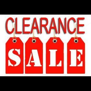 Huge Closet Clearance